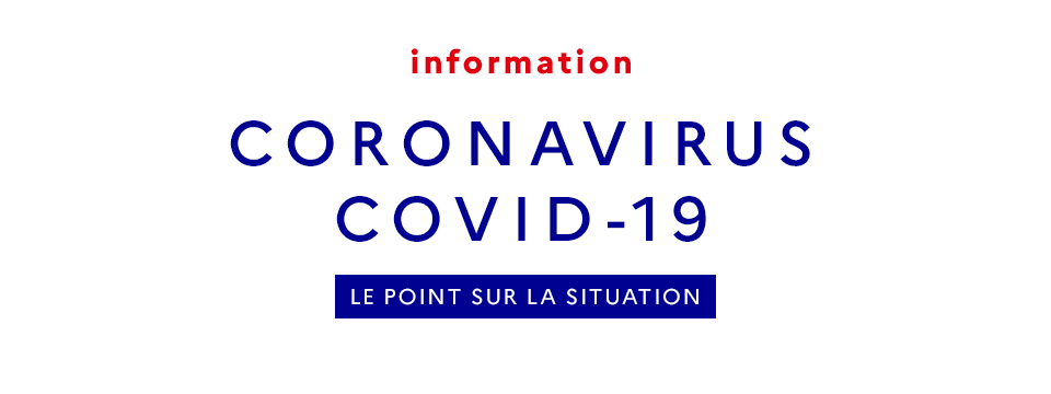 COVID - informations confinement
