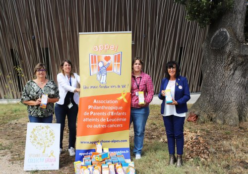 Septembre en or : tous engagés contre les cancers pédiatriques