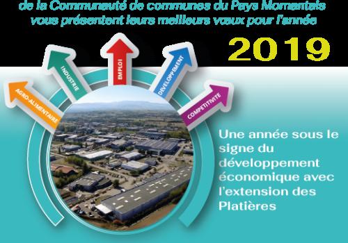 Voeux 2019 de la Copamo